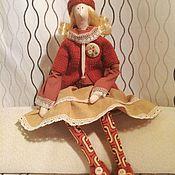Куклы и игрушки ручной работы. Ярмарка Мастеров - ручная работа Катарина, текстильная кукла. Handmade.