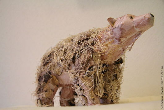 """Игрушки животные, ручной работы. Ярмарка Мастеров - ручная работа. Купить Медведь игрушка """"Хоть и бумажный, но очень добрый"""". Handmade."""