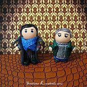 Куклы и игрушки ручной работы. Ярмарка Мастеров - ручная работа Шерлок Холмс и Джон Ватсон, Sherlock Holmes & John Watson. Handmade.