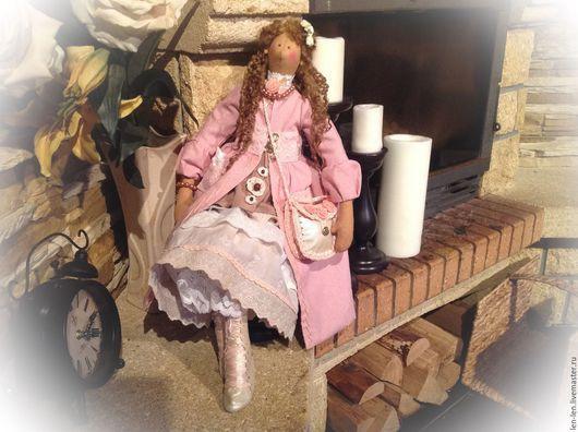 """Куклы Тильды ручной работы. Ярмарка Мастеров - ручная работа. Купить 70 см! Тильда """"Пыльная Роза"""". Handmade. бохо"""