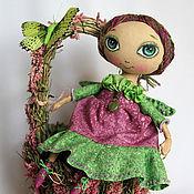 Куклы и игрушки ручной работы. Ярмарка Мастеров - ручная работа Эля Цветочная фея. Handmade.