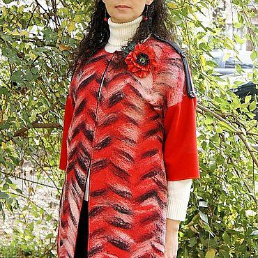 Одежда ручной работы. Ярмарка Мастеров - ручная работа Кардиганы: войлочный. Handmade.