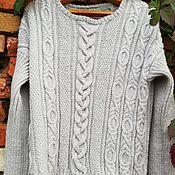 Пуловеры ручной работы. Ярмарка Мастеров - ручная работа Серебристый мираж. Handmade.
