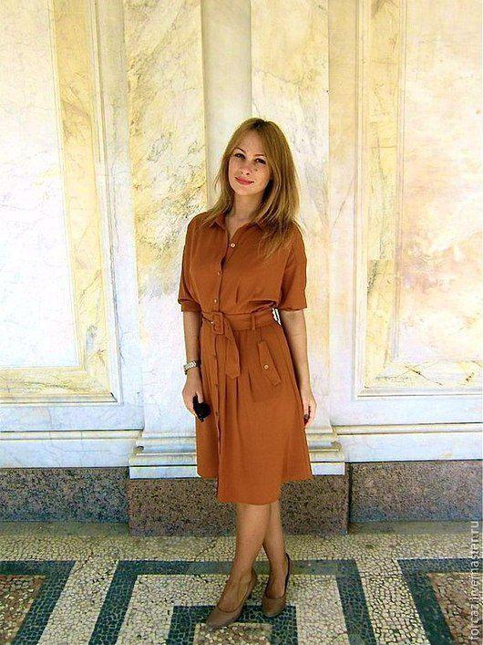 f9ce72167d7 Платье Сафари – купить в интернет-магазине на Ярмарке Мастеров с ...
