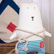 Куклы и игрушки handmade. Livemaster - original item Bear Captain Arctic 42cm. Handmade.