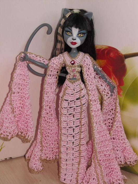 Одежда для кукол ручной работы. Ярмарка Мастеров - ручная работа. Купить Нежность востока. Handmade. Розовый, монстр хай