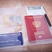 Канцелярские товары handmade. Livemaster - original item Double Zip folder - Folder for the notebook traveler. Handmade.