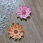 Материалы для творчества handmade. Livemaster - original item !Flowers for scrapbooking paper handmade. DAISY. Handmade.