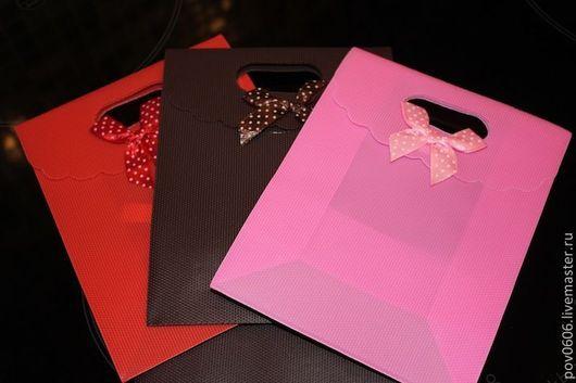 Упаковка ручной работы. Ярмарка Мастеров - ручная работа. Купить Подарочная упаковка (в 3-х цветах). Handmade.