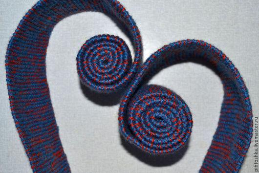 Шарфы и шарфики ручной работы. Ярмарка Мастеров - ручная работа. Купить узкий длинный шарфик. Handmade. Разноцветный, шарф женский