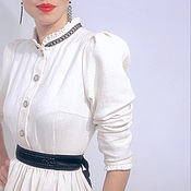 """Одежда ручной работы. Ярмарка Мастеров - ручная работа Повседневное платье """"Белое-Черное"""" PP0001. Handmade."""