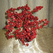 Подарки к праздникам ручной работы. Ярмарка Мастеров - ручная работа Дерево счастья из коралла. Handmade.