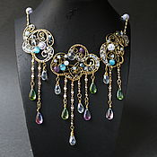 Украшения handmade. Livemaster - original item Crystal Cloud Necklace. Handmade.