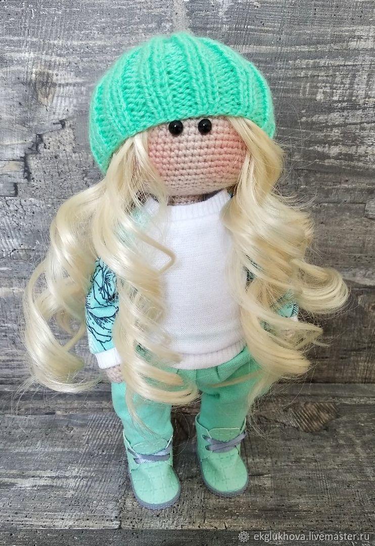 Кукла в мятном костюме, Куклы и пупсы, Тольятти,  Фото №1