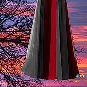 """Одежда ручной работы. Ярмарка Мастеров - ручная работа шифоновая юбка макси """"Заря"""" 12 клинка. Handmade."""