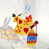 """Подарки к праздникам ручной работы. Ярмарка Мастеров - ручная работа """"Пасхальный кролик"""". Handmade."""