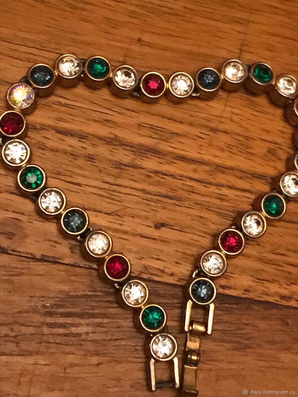 Bracelet 'Carnival', handmade, Holland, Vintage bracelets, Arnhem,  Фото №1