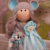 Куклы и пупсы ручной работы. Ярмарка Мастеров - ручная работа Текстильная куколка-малышка Мышка. Handmade.