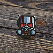 Украшения handmade. Livemaster - original item Wooden icon of Ant-Man. Handmade.