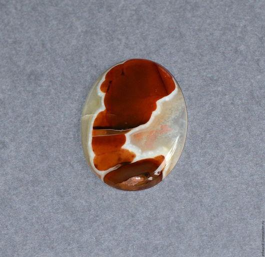 Для украшений ручной работы. Ярмарка Мастеров - ручная работа. Купить Агат 43х32 мм.. Handmade. Комбинированный, кабошон из камня