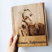 Блокноты ручной работы. Ярмарка Мастеров - ручная работа Именной блокнот с вашим фото. Handmade.