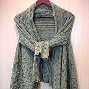 """Одежда ручной работы. Ярмарка Мастеров - ручная работа Жакет вязаный """"Первая зелень"""". Handmade."""