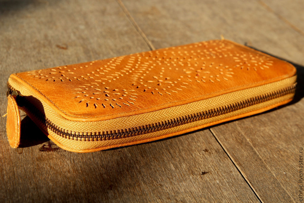 Wallet leather with embossed pattern, Wallets, Denpasar,  Фото №1