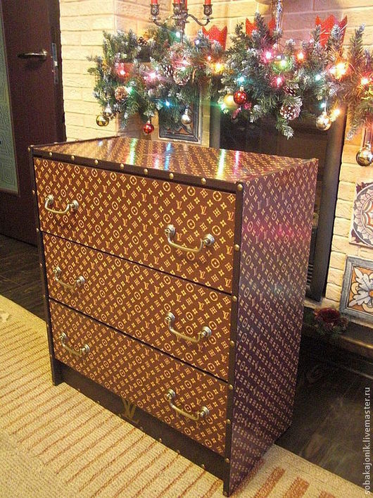 """Мебель ручной работы. Ярмарка Мастеров - ручная работа. Купить Комод """"Реплика-3"""". Handmade. Коричневый, мебель из дерева"""