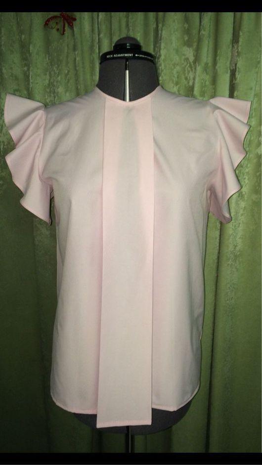 """Блузки ручной работы. Ярмарка Мастеров - ручная работа. Купить Блузка """"Кокетка"""". Handmade. Блузка, блузка летняя, блузка-туника"""