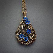 Украшения ручной работы. Ярмарка Мастеров - ручная работа Ажурный кулон в технике Wire Wrapped. Handmade.