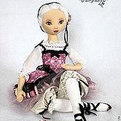 Куклы и игрушки ручной работы. Ярмарка Мастеров - ручная работа Этель - авторская текстильная кукла. Handmade.