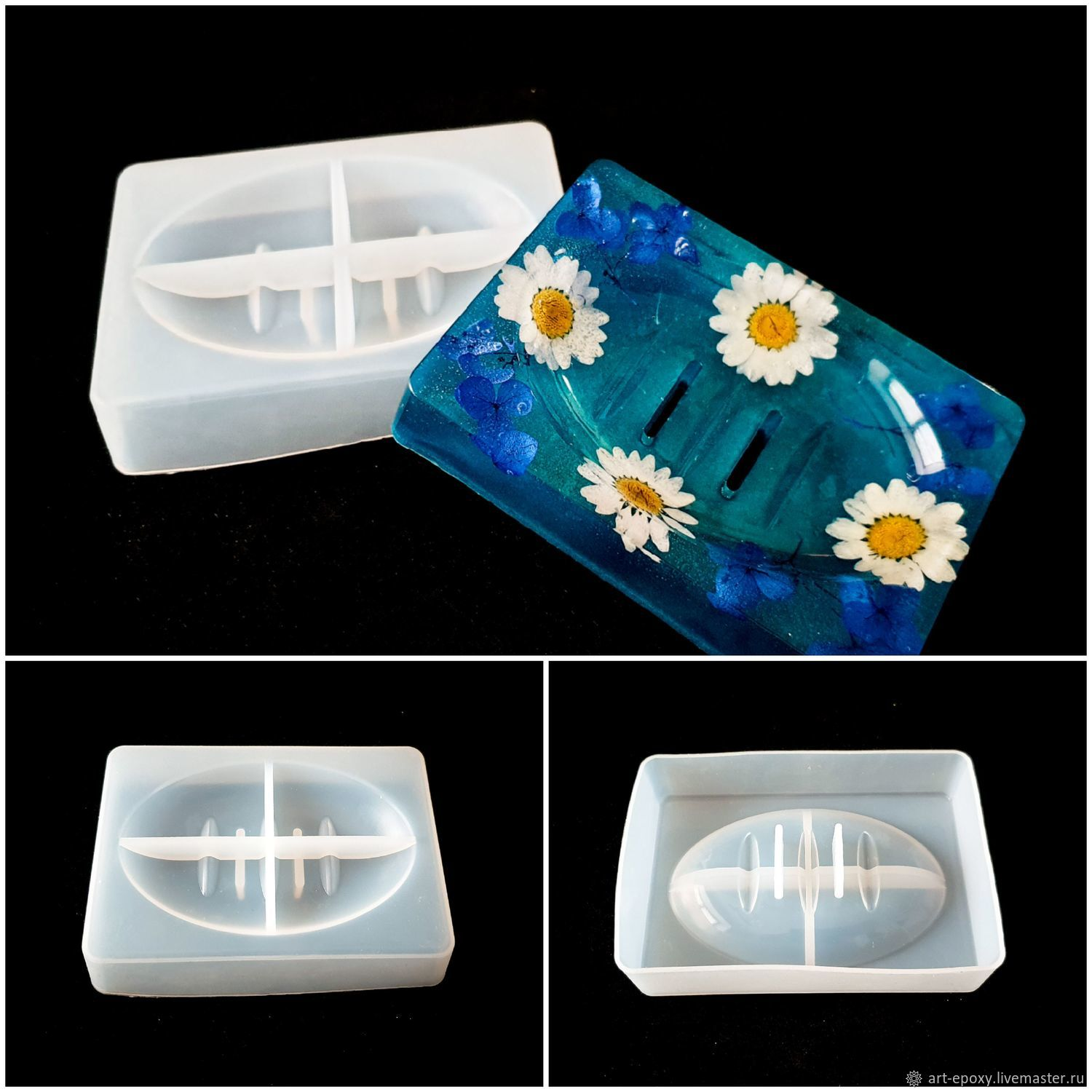 Mold 'Soap Dish', Molds for making flowers, Volgograd,  Фото №1