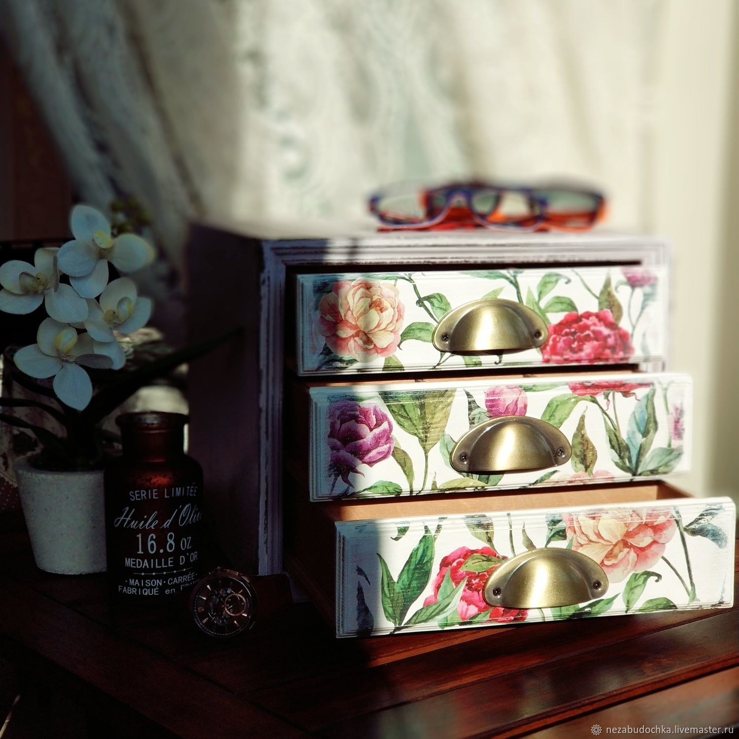 Universal chest of drawers in vintage style, Mini Dressers, St. Petersburg,  Фото №1