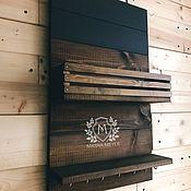 Для дома и интерьера handmade. Livemaster - original item Shelf housekeeper loft style. Handmade.