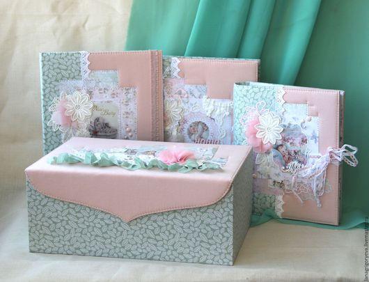Подарки для новорожденных, ручной работы. Ярмарка Мастеров - ручная работа. Купить Комплект для новорожденной. Handmade. Комбинированный, ежедневник ручной работы