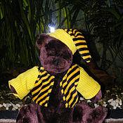 Куклы и игрушки ручной работы. Ярмарка Мастеров - ручная работа Мишка в одежке.. Handmade.