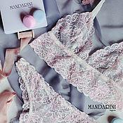 Одежда handmade. Livemaster - original item Handmade lace milky pink color. Handmade.
