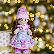 """Мягкие игрушки ручной работы. Ярмарка Мастеров - ручная работа Кукла """"Николь"""" (вязанная игрушка).. Handmade."""