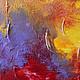 Абстракция ручной работы. Заказать Абстрактная живопись. Lover.. Анна. Ярмарка Мастеров. Красный, абстракция, подарок девушке, акрил
