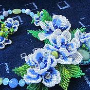 """Украшения ручной работы. Ярмарка Мастеров - ручная работа Комплект """" Цветы для Сюзанны"""". Handmade."""