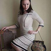 Одежда handmade. Livemaster - original item Knitted crochet warm dress