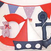 Для дома и интерьера ручной работы. Ярмарка Мастеров - ручная работа Набор интерьерных игрушек  Морской. Handmade.
