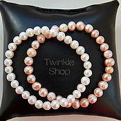 Украшения handmade. Livemaster - original item Exquisite bracelet of freshwater pearls. Handmade.