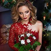 """Одежда ручной работы. Ярмарка Мастеров - ручная работа Кружевное платье """"Rose"""". Handmade."""