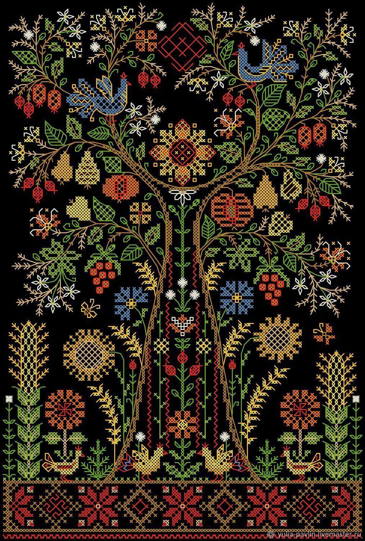 Схема для вышивки: Оберег-Древо Жизни, Схемы для вышивки, Уфа,  Фото №1