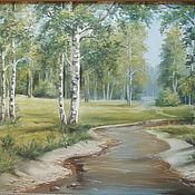 Картины и панно handmade. Livemaster - original item Forest. Handmade.