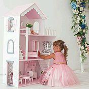Куклы и игрушки ручной работы. Ярмарка Мастеров - ручная работа Кукольный домик. Handmade.