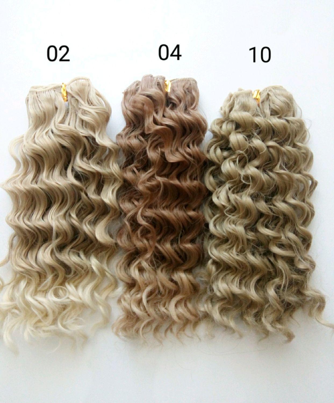 Трессы  волосы для кукол гофре 20 см, Волосы для кукол, Дзержинск,  Фото №1