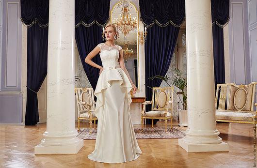 Платья ручной работы. Ярмарка Мастеров - ручная работа. Купить Элегантность. Handmade. Свадебное платье, стильное платье