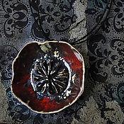 """Украшения ручной работы. Ярмарка Мастеров - ручная работа Кулон """"Мак"""". Керамика.. Handmade."""